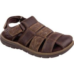 Men's Skechers Relaxed Fit Supreme Olvero Brown