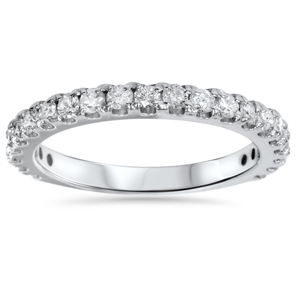14k White Gold 1ct TDW Diamond Wedding Ring (H-I, I2-I3)