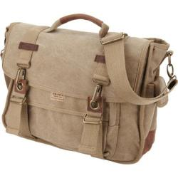 A Kurtz Dogwood Canvas Messenger Tan