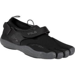 Men's Fila Skele-Toes EZ Slide Drainage Black/Castlerock