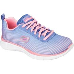Women's Skechers Equalizer Expect Miracles Periwinkle/Pink