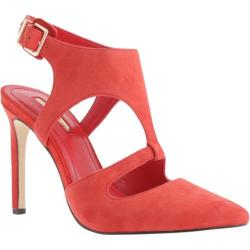 Women's BCBGeneration Chamber Bright Red Kidsuede