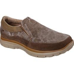 Men's Skechers Relaxed Fit Hinton Olmos Cocoa