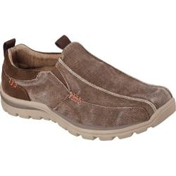 Men's Skechers Relaxed Fit Superior Devoy Cocoa