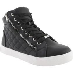 Women's Steve Madden Decaf Black Leather