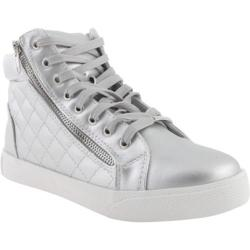 Women's Steve Madden Decaf Silver Leather