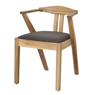 Marko European Oak Contemporary Dining Chair