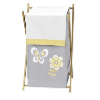 Sweet Jojo Designs Mod Garden Laundry Hamper