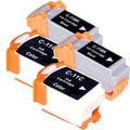 Canon BCI-11 Black/ Color Compatible Inkjet Cartridge (Remanufactured) (Pack of 4)