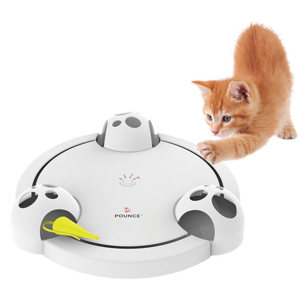 PetSafe Pounce FroliCat Rotating Interactive Electronic Cat Toy