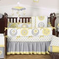 Sweet Jojo Designs Mod Garden 9-piece Bedding Set