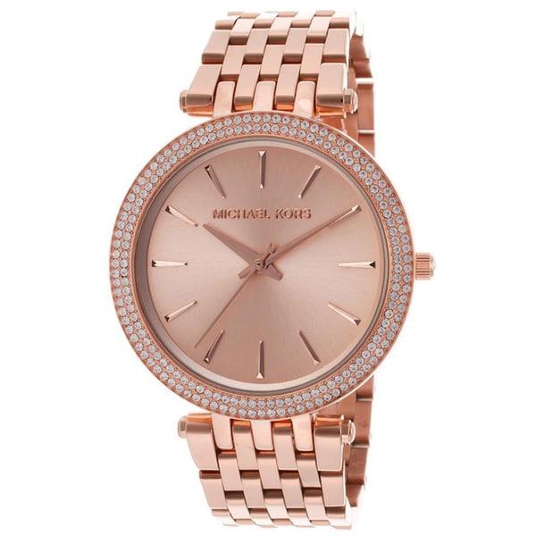 Michael Kors Women's MK3192 'Darci' Rose Goldtone Stainless Steel Watch
