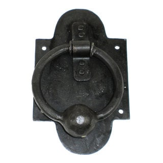 Iron Ring and Ball Door Knocker (India)