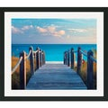 Dennis Frates 'Boardwalk to the Beach' Framed Matted Art Print