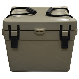 Brute Box by Bison Coolers 25-quart Tan Ice Cooler
