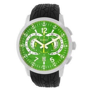 Roberto Bianci Men's Pro Racing Chronograph Green Face Watch