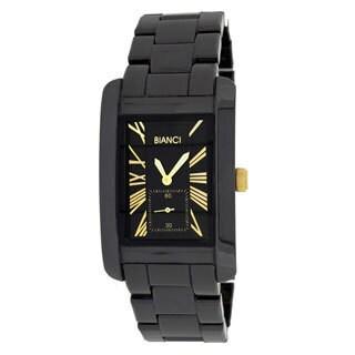 Roberto Bianci Unisex Black Ceramic Watch