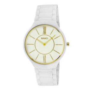 Roberto Bianci Unisex White Ceramic Watch