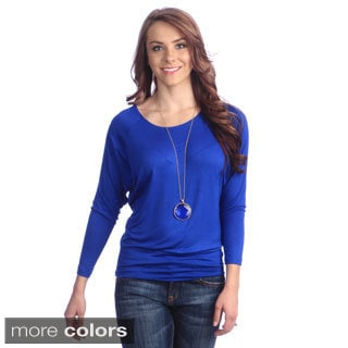 Women's Basic Dolman Tee