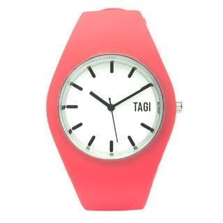 TAGI Gear Women's 'Norterra' Coral Silicone Watch