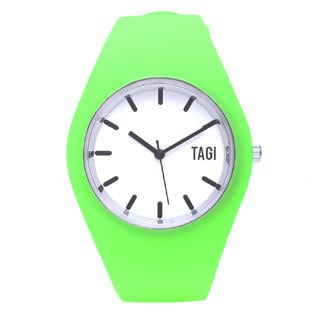 TAGI Gear Women's 'Norterra' Green Silicone Watch