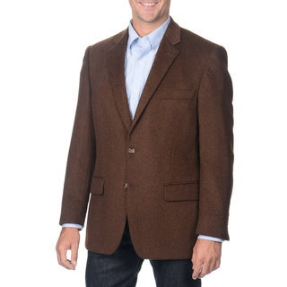 Henry Grethel Men's Brown Camel Hair Blazer