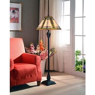 Judith 2-light Oil Rubbed Bronze Floor Lamp
