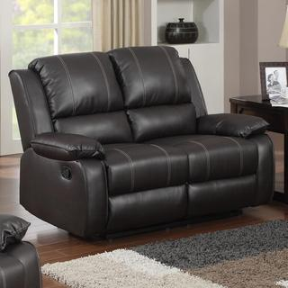 Gavin Brown Bonded Leather Loveseat