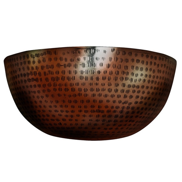 Macomb 1-light Antique Copper Wall Sconce
