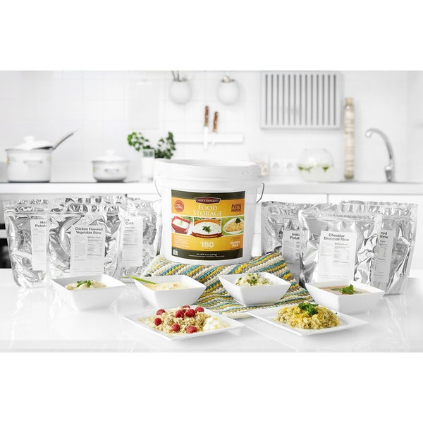 Chef's Banquet ARK Food Storage Kit -180 Servings