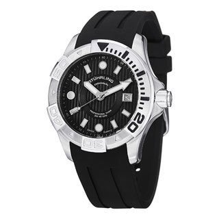 Stuhrling Original Men's Manta Ray Swiss Quartz Strap Watch