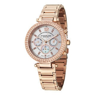 Stuhrling Original Women's Damsel Swiss Quartz Bracelet Watch