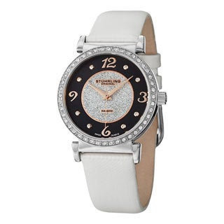 Stuhrling Original Women's Astra Swiss Quartz Strap Watch
