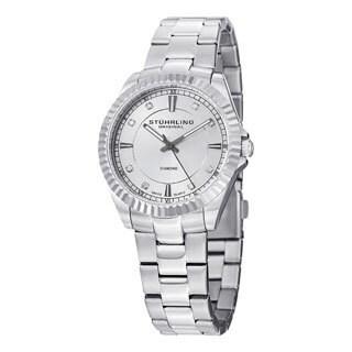 Stuhrling Original Women's Lady Marine Diamond Swiss Quartz Bracelet Watch