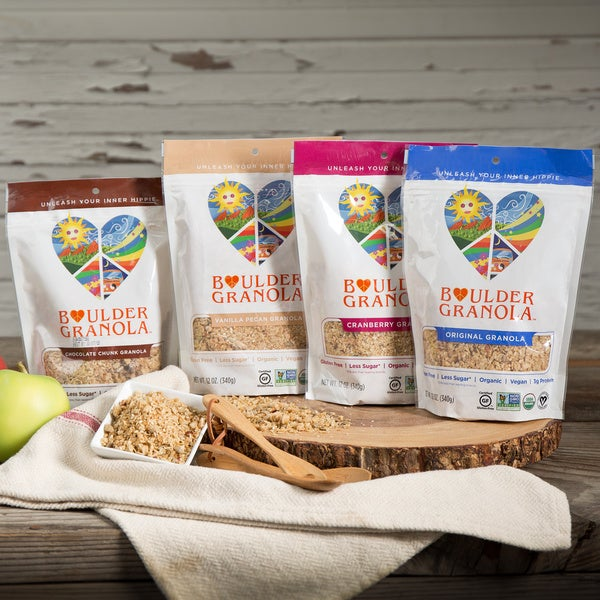 Boulder Granola Organic Gluten-free Variety Pack (Set of 4)