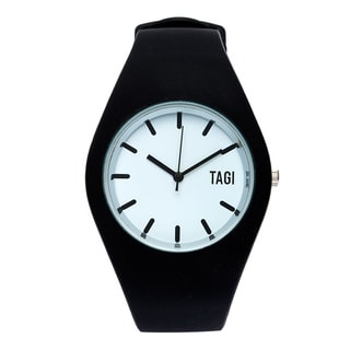 TAGI Gear Women's 'Norterra' Black Silicone Watch