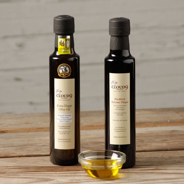 Cloud 9 Orchard Spanish Varietal Extra Virgin Olive Oil & Blackberry Vinegar