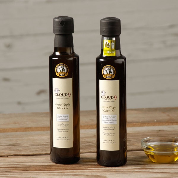 Cloud 9 Orchard Extra Virgin Olive Oil from Spanish and Italian Varietals (Pack of 2)