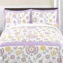 Sweet Jojo Designs Suzanna Girls 3-piece Full/Queen Bedding Set