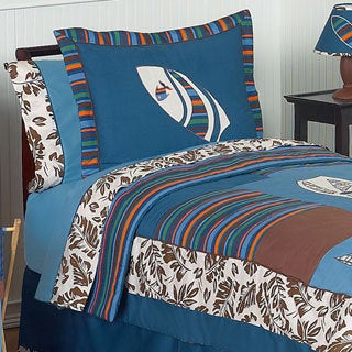 Sweet Jojo Designs Tropical Hawaiian Surf 3-piece Comforter Set