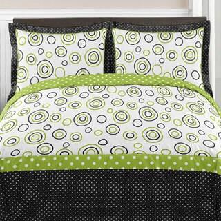 Sweet Jojo Designs Spirodot 3-piece Full/Queen Comforter Set