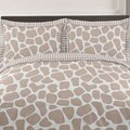 Sweet Jojo Designs Giraffe Neutral 3-piece Full/Queen Comforter Set