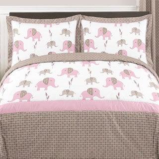 Sweet Jojo Designs Mod Elephant 3-piece Full/ Queen Comforter Set