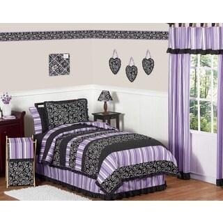 Sweet Jojo Designs Girls 'Kaylee' 4-piece Twin Comforter Set