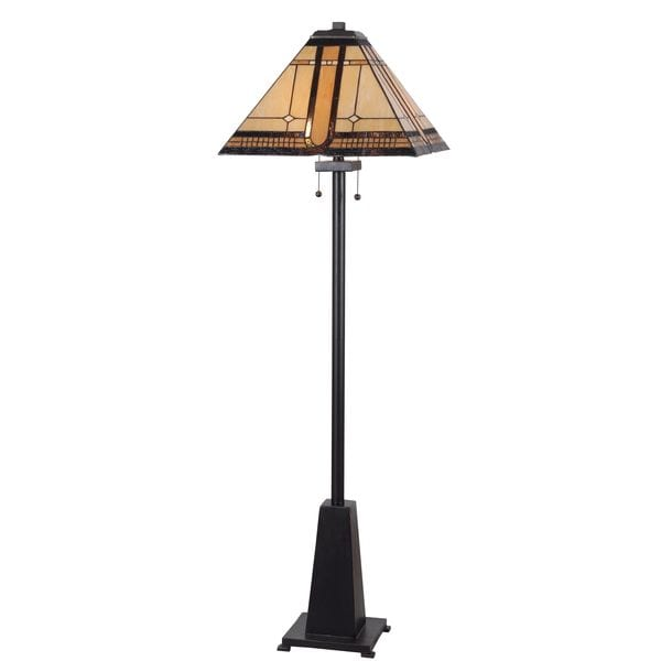 Stettler Oil Rubbed Bronze Floor Lamp