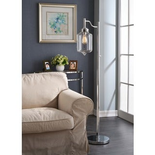Pasadena 1-light Chrome Floor Lamp