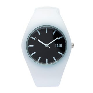 TAGI Gear Women's 'Norterra' White Silicone Watch