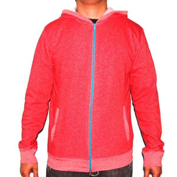 Laguna Beach Jeans Red/ Aqua Hoodie