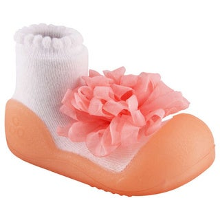 Attipas Toddlers Pink Corsage Cotton Shoes