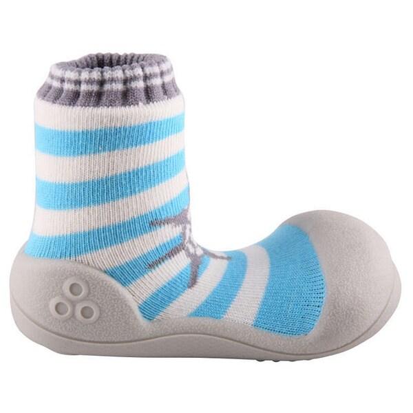 Attipas Toddlers Marine Stripe Print Cotton Shoes
